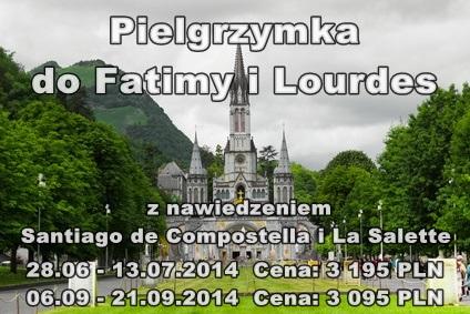 Fatima i Lourdes pielgrzymki